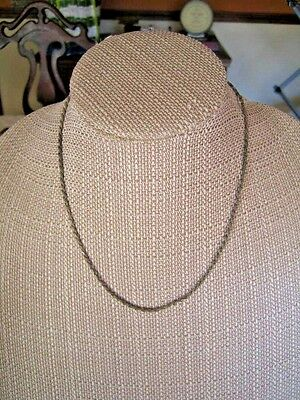 Sterling Silver Twisted Rope Chain Necklace Ii