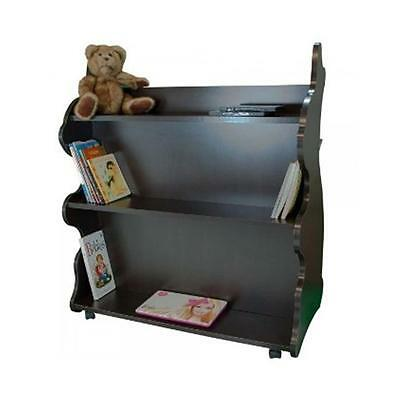 Ace Baby Furniture MBREW1051 Rabbit Mobile Double-Sided Bookcase, Espresso Wenge