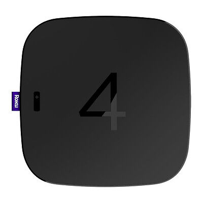 Roku 4 Streaming Media Player 4K Ultra HD and HD TVs - 4400R