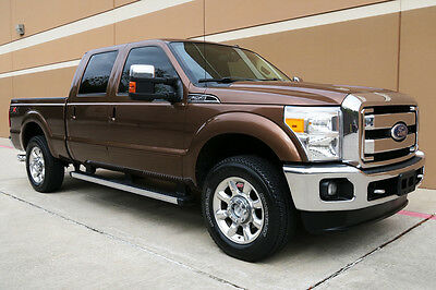 "2012 Ford F-350 KING RANCH CREW CAB LONG BED 6""LIFTED 4WD 2012 FORD F-350 KING RANCH CREW CAB 6.7L DIESEL 6""LIFTED FX4 NAV CAM ROOF 1OWNER"
