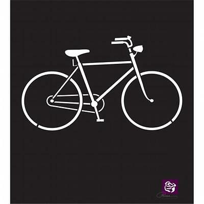Prima Designer Stencil 6''X6''-Bicycle