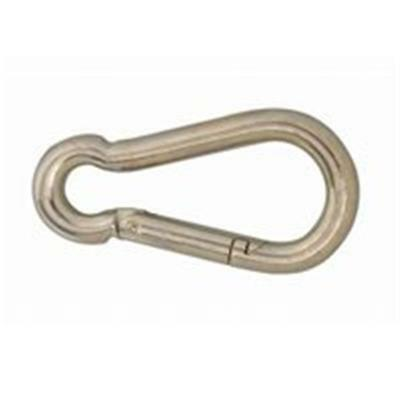 Campbell Chain T7645046V Spring Snap Zinc Plated Steel 0.5 In.