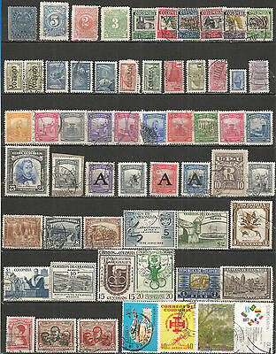 Colombia from 1890 nice collection mint/used stamps