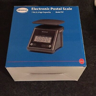 Salter Brecknell Electronic Postal Scales - Blue