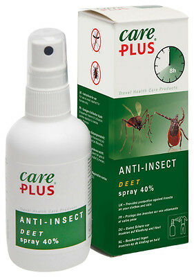 Care Plus 40 % DEET Anti Mosquito insect Spray 60ml Deet SPRAY ON