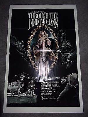 Through The Looking Glass Jonas Middleton Adult Horror Pre Cert Classic POSTER