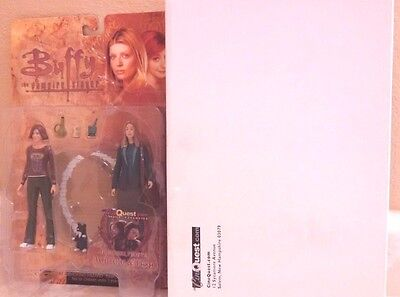 """2004 Buffy The Vampire Slayer Willow & Tara Together Forever 6"""" Action Figures"""