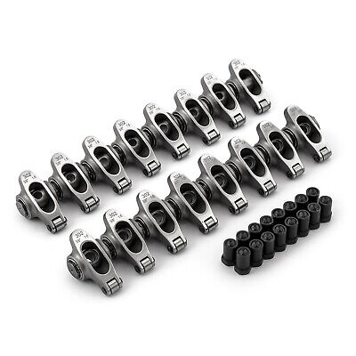 """fits Ford SB 289 302 351 Windsor 1.60 Ratio 3/8"""" Stainless S. Roller Rocker Arm"""