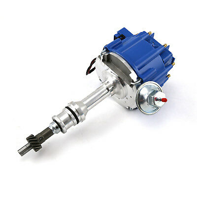 Ford 351W Windsor 65K Coil HEI Electronic Distributor - Blue Cap