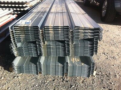 CLEARANCE Zinc Metlok Kliplok 6000mm Roofing sheets with Klips