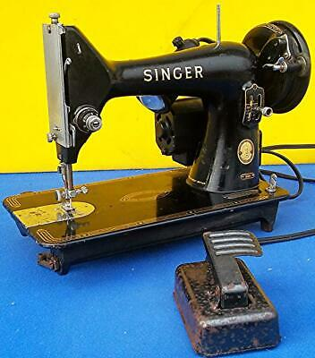 1955 Singer Model 99K Sewing Machine Ek966509 Perfect Watch Video Freeship