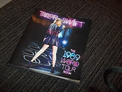 Taylor Swift 1989 World Tour Book - Available for purchase at her concerts