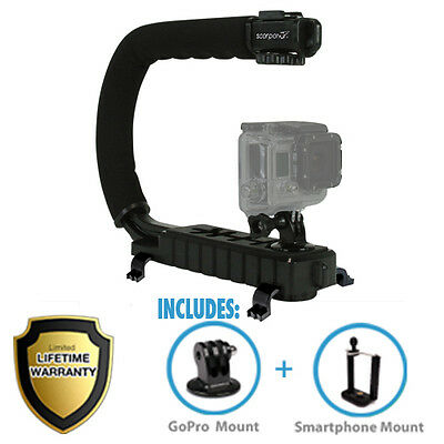 Cam Caddie Stabilizing Scorpion Jr Camera Grip DSLR for Sony Nikon Canon GoPro