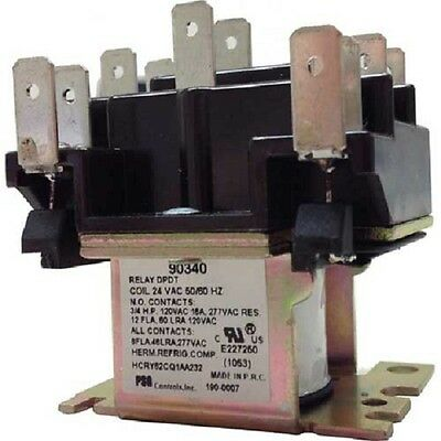 SUPCO GENERAL PURPOSE SWITCHING RELAY DPDT 24VAC 90340