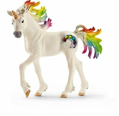 Schleich North America Rainbow Unicorn Foal Toy Figure New