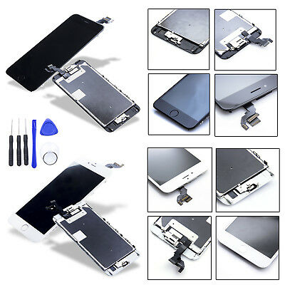VITRE TACTILE IPHONE 6 6S PLUS COMPLET + ECRAN LCD SUR CHASSIS + OUTILS+Home