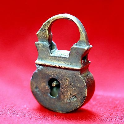 Antique 19th Century Bronze Ottoman Padlock not working VERY RARE Artifact    A1