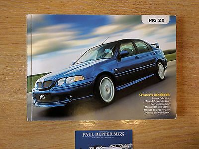 MG ZS Service Book (Pre-Facelift) (RCL 0547)