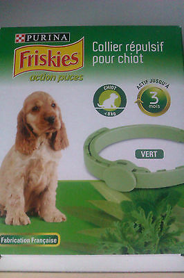 Collier anti puces chiot Friskies
