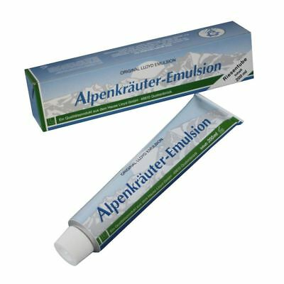 200 ml ORIGINAL LLOYD RIESENTUBE ALPENKRÄUTER EMULSION CREME TUBE SALBE MASSAGE