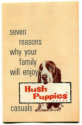 "Vintage Advertising Brochure: ""HUSH PUPPIES"" Shoes"