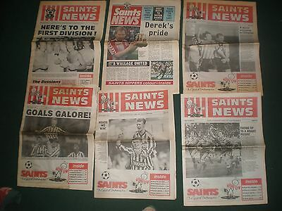 """Southampton Fc """"saints News"""" From Late 80's And Early 90S"""