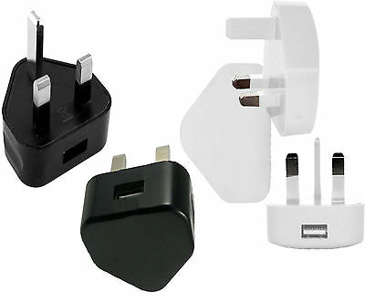 USB Port Mains Home Wall Charger Plug For 5 5G 5C 5S SE 6 6+ 6S 7G 7 Plus UK