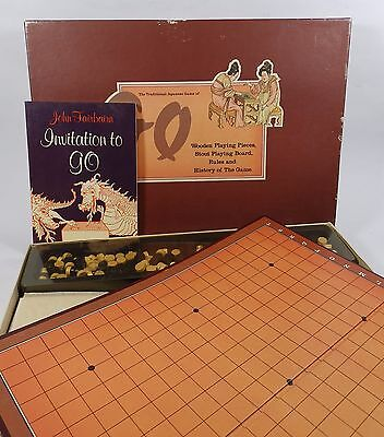 Vintage Board Game GO - with Book - Complete