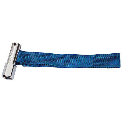 """Draper Oil Filter Remover Strap Wrench Tool Removing 1/2"""" Sq Drive Socket 13771"""
