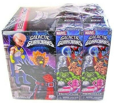 Marvel Heroclix Galactic Guardians Sealed BRICK 8 Boosters + 1 Super Booster