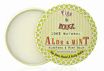Figs & Rouge Aloe & Mint Lip, Face & Body Balm, 17 ml (GP € 35,00/100 ml)
