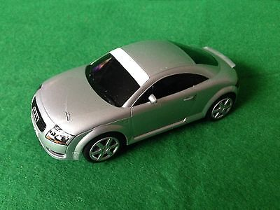 SCALEXTRIC CAR  - 'AUDI TT'  COUPE (silver)