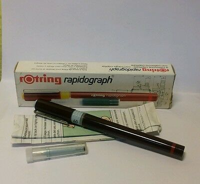 rotring rapidograph 0.60mm