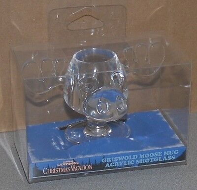 National Lampoon's Christmas Vacation Marty Moose Shot Glass Brand New