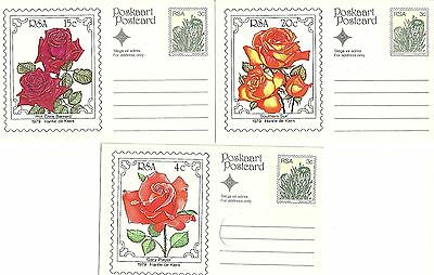 3 Postcards - Featuring Stamps from South Africa (1979) - Unposted