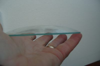 CLOCK FRONT  GLASS  130MM DOME  GLASS   *** buy one get one  free ***