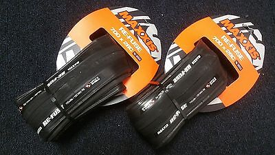 2 x Maxxis Re-Fuse Refuse Foldable Tyres 700 X 28c PAIR - Black