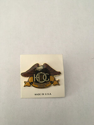 K8) Harley-Davidson  H.O.G. Owners Group Eagle Freedom Motorcyle Pin