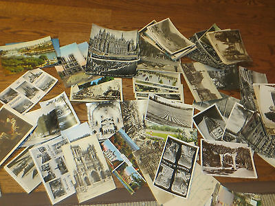 Antique and Vintage Lot of Postcards Over 85 Europe USA CANADA Used and Unused