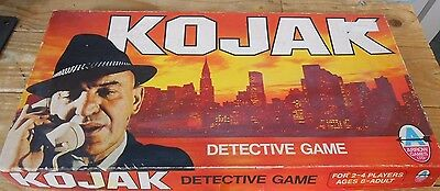 VINTAGE KOJAK Detective Game. Board Game 1975 Complete in  Good Condition.
