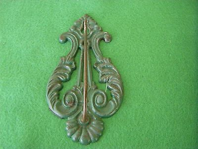 Vintage Cast Iron Wall Bill or Receipt Hook Holder