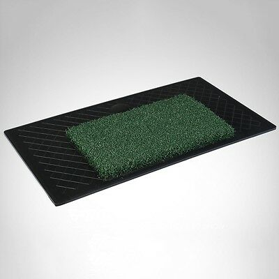 Newly Golf Practice Mat Launching Pad 61*34.5cm Hitting Driving Range Rubber Tee