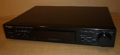 Technics Digital 28 Channel Stereo Tuner St-X302L Deck