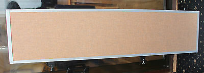 Desk Privacy Screen [1600mm x 400mm] sand colour  - Table Dividers / Partition