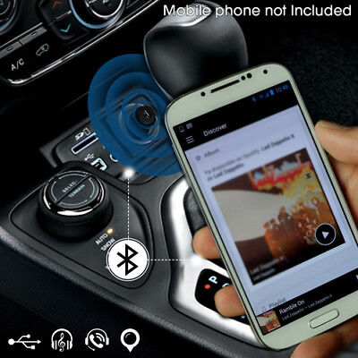 HandsFree FM Transmitter Bluetooth Player Car Kit MP3 w/ Fast USB Charger
