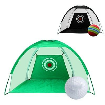 Newly Golf Practice Net Driving Chipping Net Hitting Training Cage Aid W/Bag