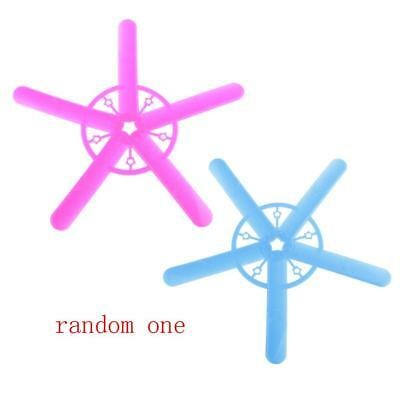 Kids Family Outdoor Play Flying Toy Gift Five Wing Boomerang Random Color