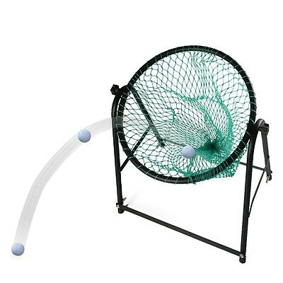 Newly Golf Practice Net Durable Steel Frame Chipping Training Aid Trainer W/Bag