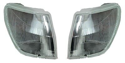 2 Clignotants Avant Blanc Peugeot 306 Cab Rally 04/1993-07/1997