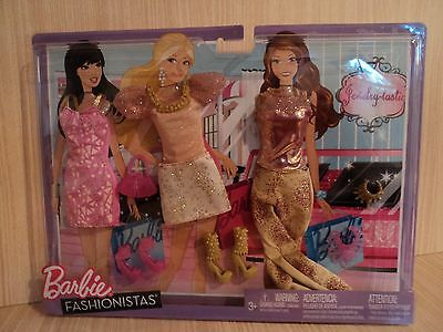 Barbie Fashionistas Jewelry Tastic Sparkle Fashion Outfits & Accessories ( New )